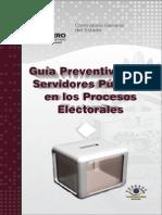 Guía Preventiva Para Servidores Públicos en Los Procesos Electorales