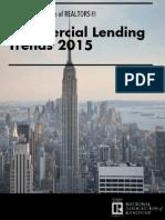 Commercial Lending Trends Survey 2015-05-08