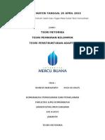 Review Materi Tanggal 25 April 2015