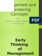 Management and Engineering Concepts