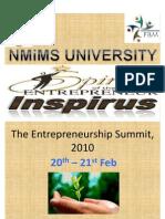 The Entreprenuership Summit, 2010 Nw