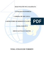 Informe Torsion