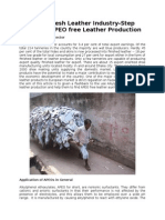 Bangladesh Leather Sector-Step Towards APEO Free Leather Production
