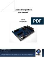 Arduino Energy Shield - User Manual