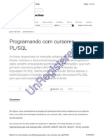 Cursor Com Parametro No Oracle