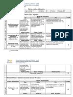 Rubrica Analitica de Evaluacion 3 Creditos