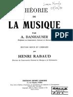 Theorie de La Musique Danhauser - Simon Plouffe