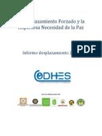 Informe Desplazamiento Forzado - Codhes - Junio 2014
