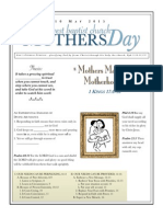 Mothers Day 1 Kings 17-8-16 Handout 051015