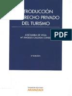 Introducción Al Derecho Privado Del Turismo