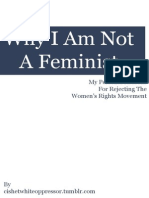 Why I'm Not a Feminist