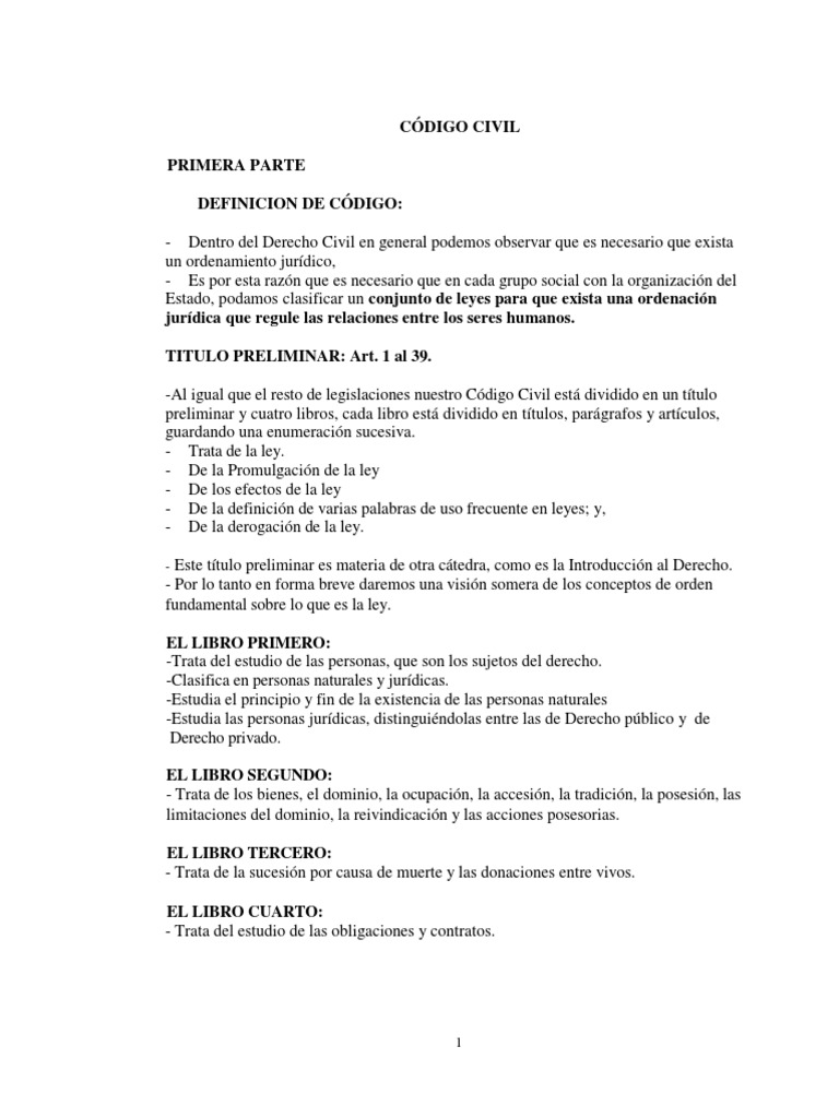 PDF Codigo Civil