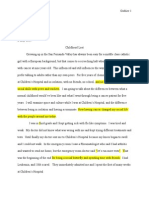 project space prospectus corrections & markup