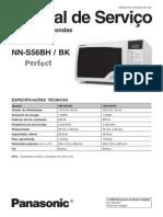 Microondas+Panasonic+NN-S56BHBK