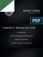 TÉCNICAS DE CORTE