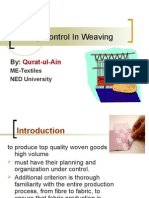 QC in Weaving
