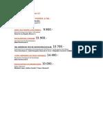 Lista de Libros Ediciones UC