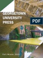 Georgetown University Press Fall/Winter 2015