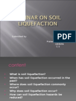 Soil Liquification