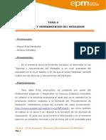 Dossier Explicativo Tema 4.Tecnicas y Herramientas Del Mediador
