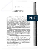 La Aldea de Ubico Guatemala, 1931-1944