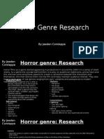 Horror Genre Opening