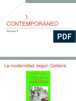 La radicalizacion de la modernidad segun Giddens