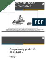 1b Estructura del texto argumentativo (versión reducida).ppt