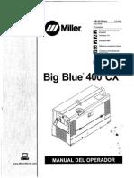 Soldadora Miller Big Blue 400 X