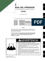 Manual Del Operador RT-650