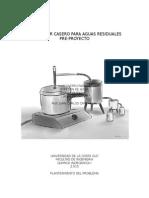 Anteproyecto Proyecto Destilador Casero Multiproposito