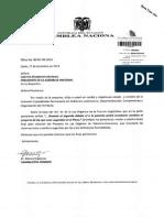 Proyecto de Ley Organica de Telecomunicaciones