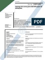 ABNT NBR 6493 - Emprego de Cores Para Identificacao de Tubulacoes