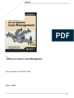 TPMpm en Un Entorno Lean Management
