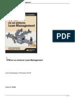 TPMpm en Un Entorno Lean Management