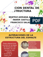 Alteracion Dental de Estructura Dental