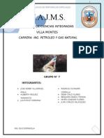 Grupo # 7 FLUIDOS Informe DE FLUIDOS DE PERFORACION