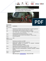 Programa Seminario Geotecnia - CDT