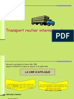 Trasport International de Marchandises