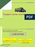 Trasport International de Marchandises
