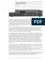 Data Sheet - 7020e Stereo Receiver
