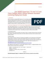 Cisco4500 Licensing