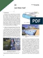 019-16 Earthquake Water Tank