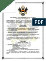 Criminal Code of Ruthenia