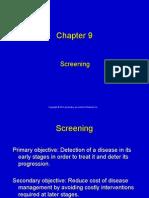 Ch 9 8th Edition Screening
