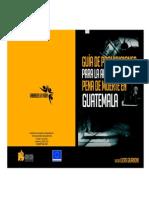 Prohibición de la pena de Muerte en Guatemala