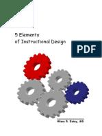 5 Elements of ISD