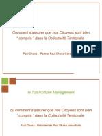 Presentation de L'Audit Tcm Collectivité Territoriale
