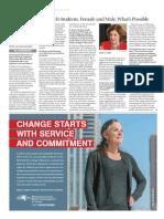 Chronicle of Higher Education Elizabeth McVicker