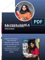 First Indian Woman Astronaut